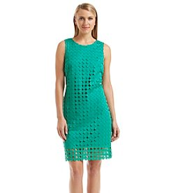 Julia Jordan® Crochet Dot Dress