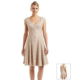 Eliza J® Lace Fit And Flare