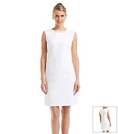 Carmen Marc Valvo Reptile Texture Dress
