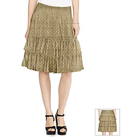 Lauren Ralph Lauren® Tiered Skirt