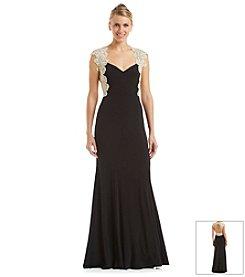 Xscape Lace Gown