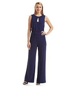 Nine West® Jeweled Jumpsuit