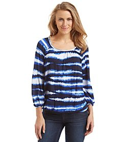 MICHAEL Michael Kors® Striped Peasant Top