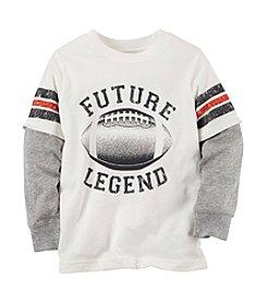 Carter's® Boys' 2T-4T Long Sleeve Future Legend Layered Tee
