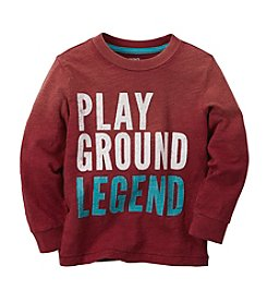 Carter's® Boys' 2T-7 Long Sleeve Playground Legend Tee
