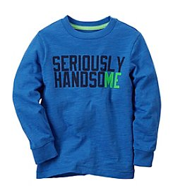 Carter's® Boys' 2T-7 Seriously Handsome Long Sleeve Tee