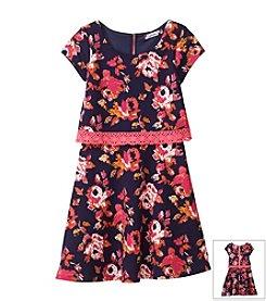 Speechless® Girls' 7-16 Textured Knit Popover Dress