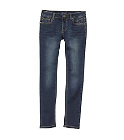 Vigoss® Girls' 7-16 5-Pocket Knit Jeans