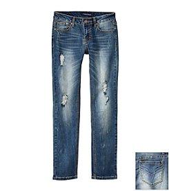 Vigoss® Girls' 7-16 Woven Skinny Jeans