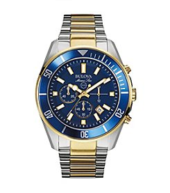 Bulova® Men's Two Toned Watch