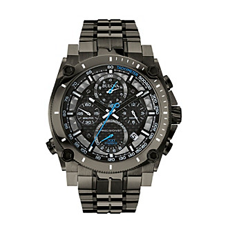 Bulova® Men's Gunmetal Gray Watch