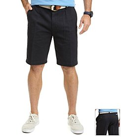 Nautica® Men's Big & Tall Flat Front Twill Short