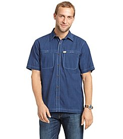 Bass® Men's Short Sleeve Chambray Homespun Shirt