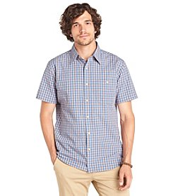 Bass® Men's Short Sleeve Seersucker Shirt