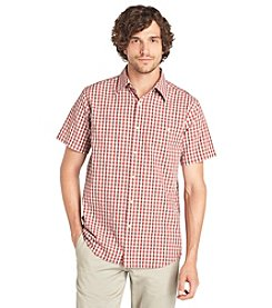 Bass Men's Short Sleeve Seersucker Shirt