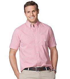 Chaps® Men's Short Sleeve Wilimington Woven