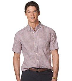 Chaps® Men's Short Sleeve Gingham Woven