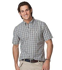 Chaps® Men's Short Sleeve Vernon Plaid Woven