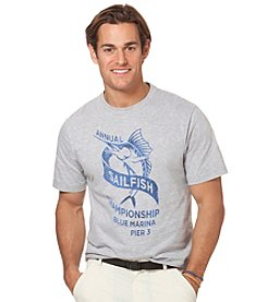 Chaps® Men's Short Sleeve Swim Graphic Tee
