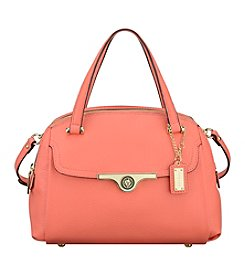 Anne Klein® Lady Lock Medium Satchel