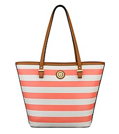 Anne Klein® Stripe It Up Tote