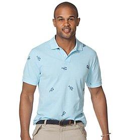 Chaps® Men's Short Sleeve Print Pique Polo