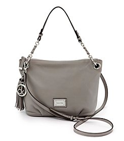 Calvin Klein Addie Leather Hobo Bag