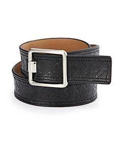 Calvin Klein Calvin Klein Embossed Logo Belt