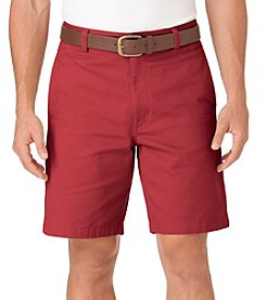 Chaps® Men's Twill Flat Front Short