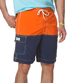 Chaps Men's Color Block Swim Shorts®