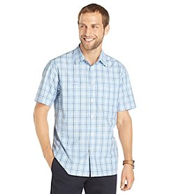 Van Heusen® Men's Big & Tall Short Sleeve Traveler No-Iron Shirt