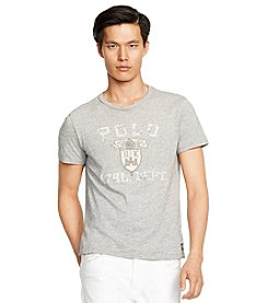Polo Ralph Lauren® Men's Short Sleeve Crewneck Custom Fit Tee