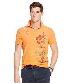 Polo Ralph Lauren® Men's Short Sleeve Floral Custom Fit Polo