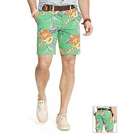 Polo Ralph Lauren® Men's Hibiscus Cargo Shorts