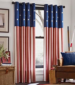 Kensington Home Americana Grommet Window Curtain