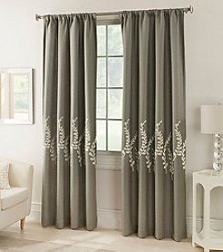 Kensington Home Jasmine Lined Rod Pocket Window Curtain