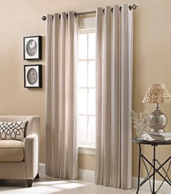 Kensington Home Lauren Stripe Grommet Window Curtain