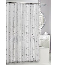 Moda at Home 3D Embossed Vine Shower Curtain
