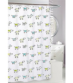 Moda at Home Doggi Shower Curtain
