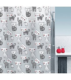 Moda at Home Mizzy PEVA Shower Curtain