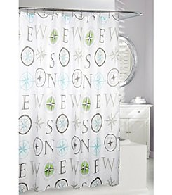 Moda at Home News Shower Curtain