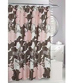 Moda at Home Botanical Rose Shower Curtain