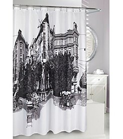 Moda at Home Paris Shower Curtain