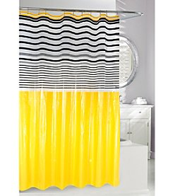 Moda at Home Totally Modern PEVA Shower Curtain