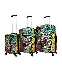 Chariot® 3-pc. Color ABS Luggage Set