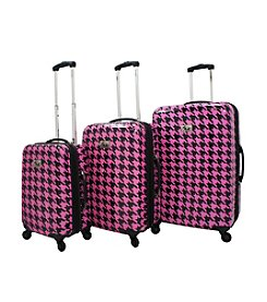 Chariot® 3-pc. Bird ABS Luggage Set