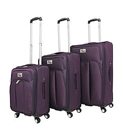 Chariot® 3-pc. Marsala Luggage Set