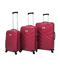 Chariot® 3-pc. Veneto ABS Luggage Set