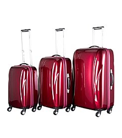 Chariot® 3-pc. Belluno ABS Luggage Set