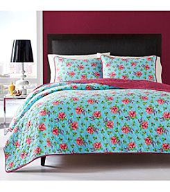 Betsey Johnson® Bow Floral 3-pc. Quilt Set